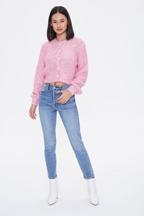 Marled Cardigan Sweater, image 4