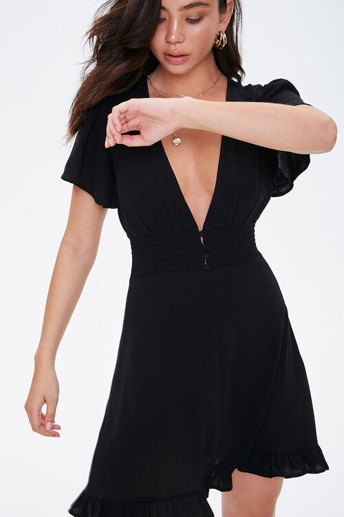 Butterfly Sleeve Mini Dress, image 1