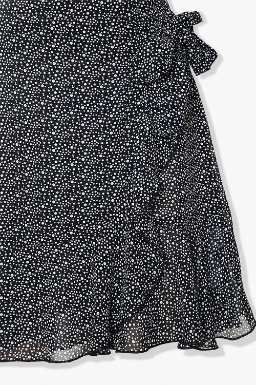 Dotted Ruffle-Trim Skirt, image 4