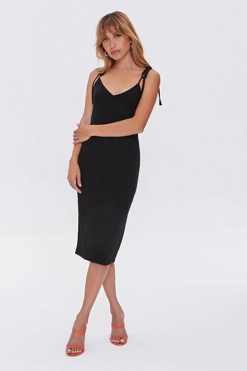 Tie-Strap Bodycon Dress, image 4