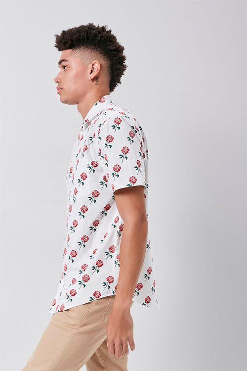 Rose Print Pocket Shirt, image 2