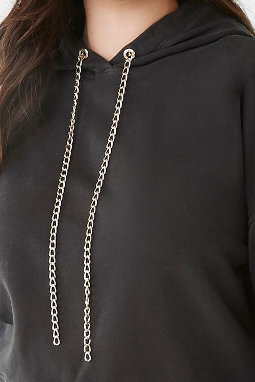 Plus Size Curb Chain Hoodie, image 5
