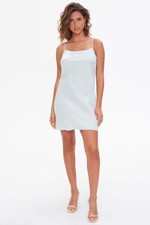 Satin Cami Mini Dress, image 4