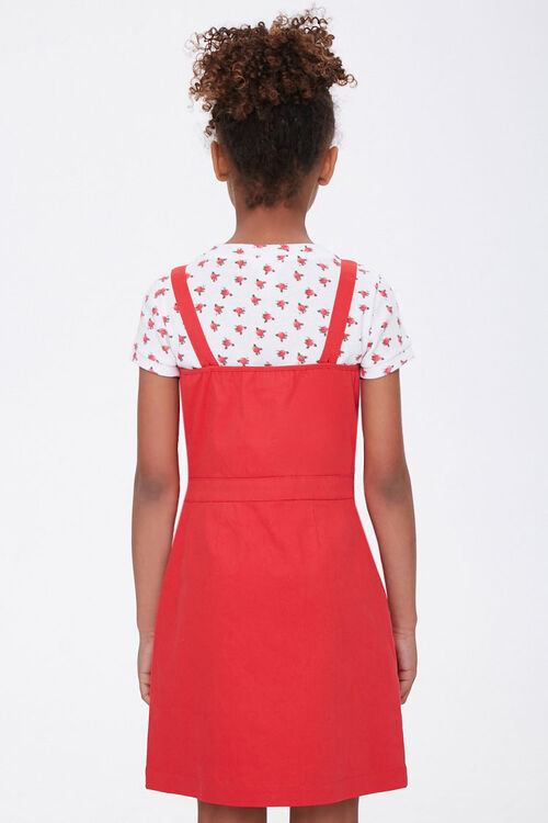Girls Zip-Front Dress (Kids), image 2