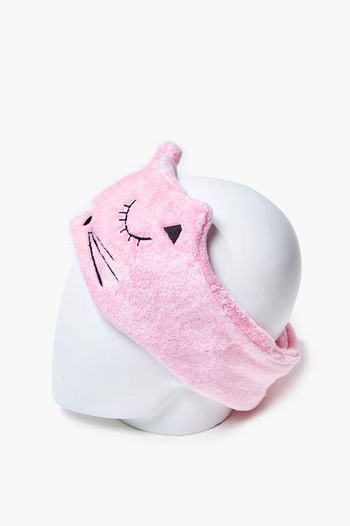 Plush Cat Graphic Headwrap, image 3