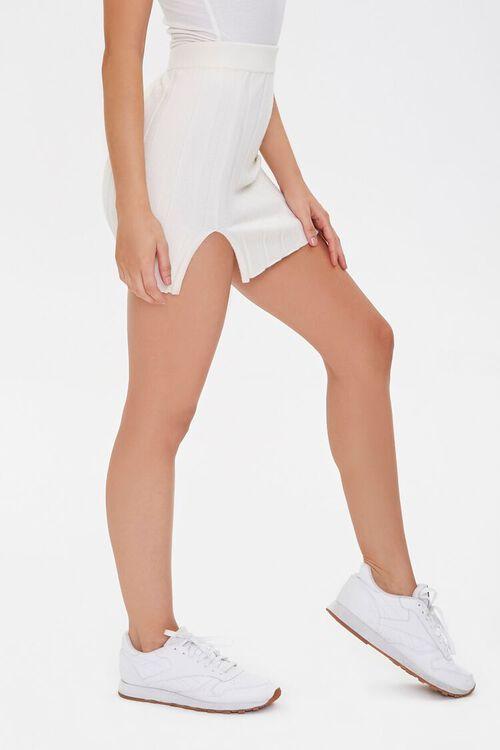 CREAM Wide-Ribbed Mini Skirt, image 3