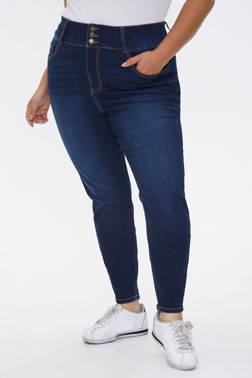 Plus Size Curvy-Fit Skinny Jeans, image 2