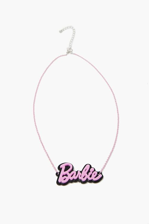 Girls Barbie™ Necklace (Kids), image 2