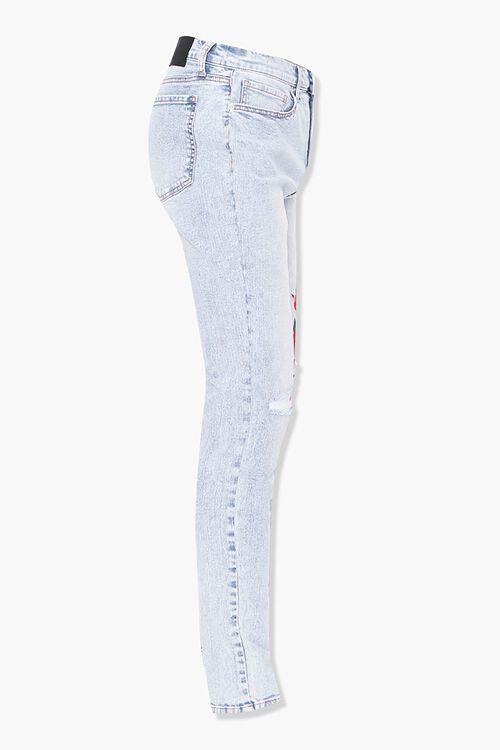Floral Print Skinny Jeans, image 2