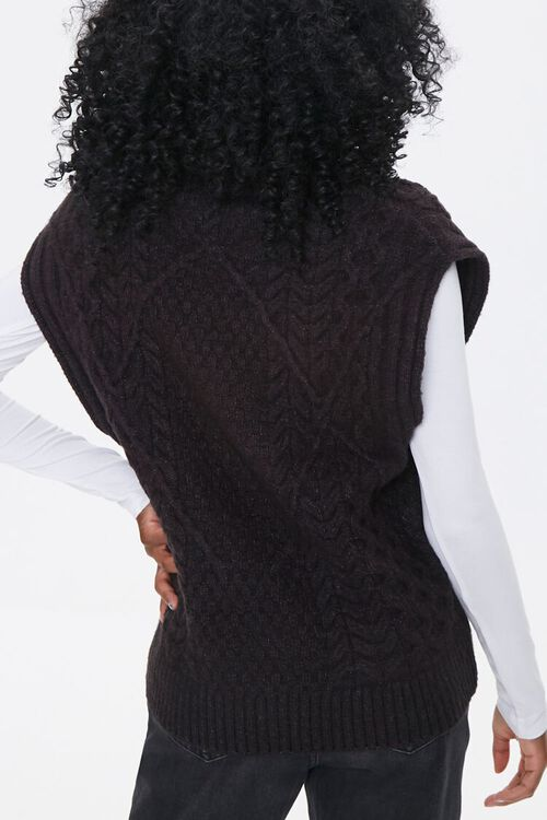 Relaxed-Fit Sweater-Knit Vest, image 3
