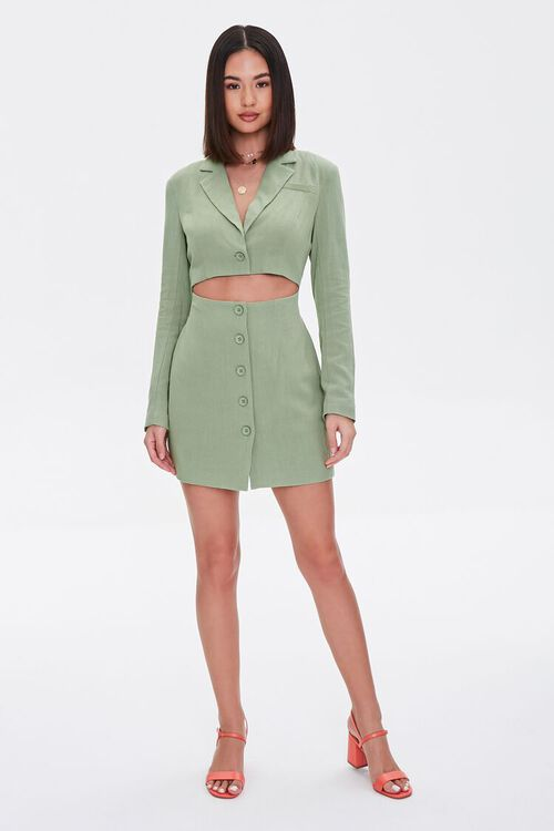 Cutout Blazer Mini Dress, image 5
