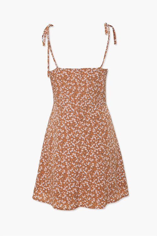 Ruffled Floral Cami Dress, image 3