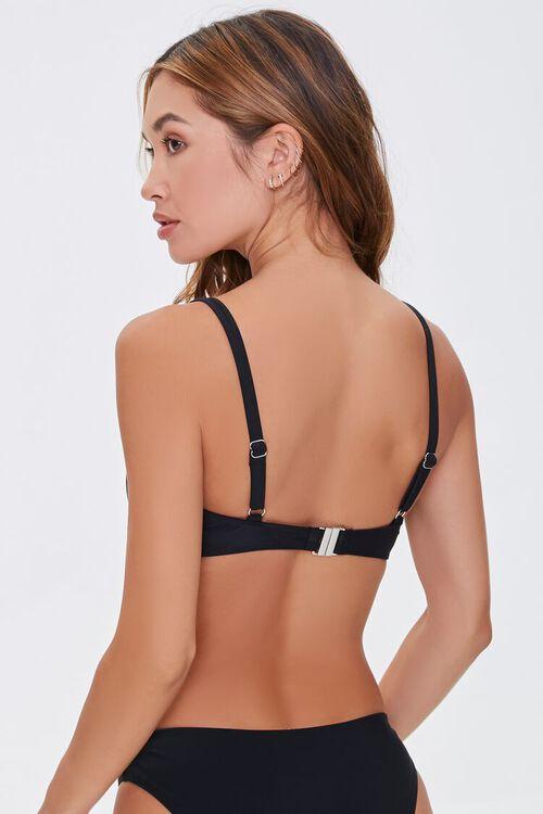 Split-Neck Bralette Bikini Top, image 3