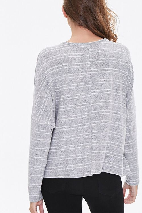 Striped Drop-Sleeve Top, image 3