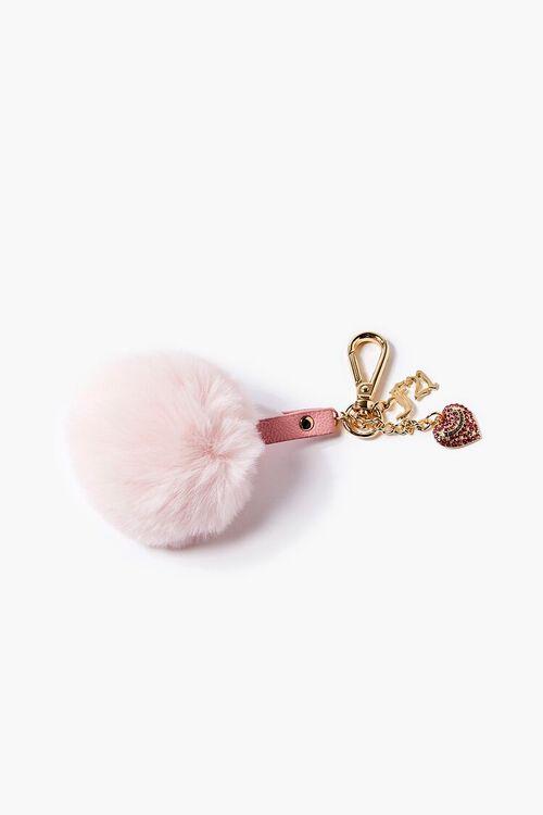 Juicy Couture Pom Pom Keychain, image 1