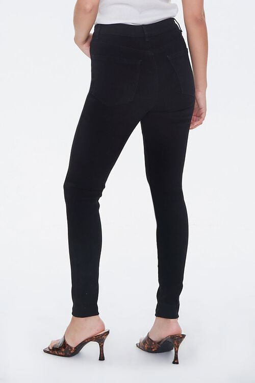 Stretch High-Rise Skinny Jeans, image 3