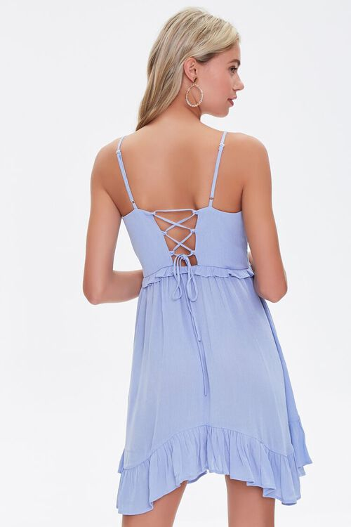 Ruffle-Trim Mini Dress, image 3