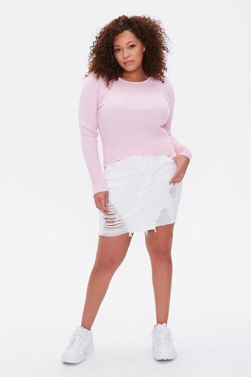 Plus Size Ribbed Sweater, image 4