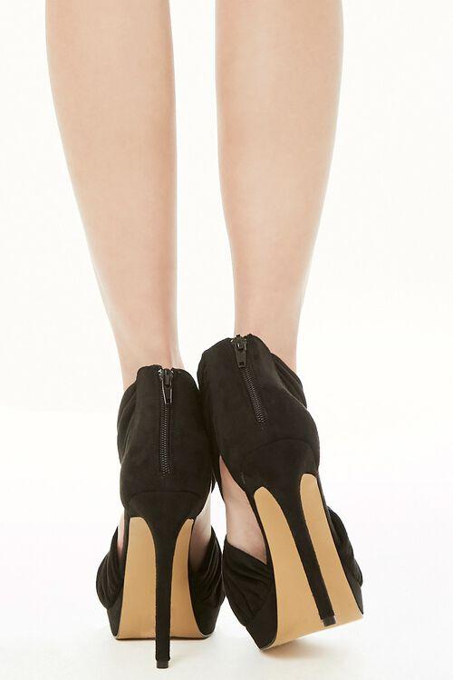 Shoe Republic Pleat Strap Stiletto Heels, image 4