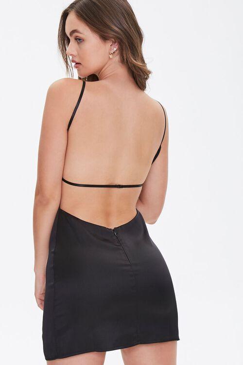Satin Open-Back Dress, image 4