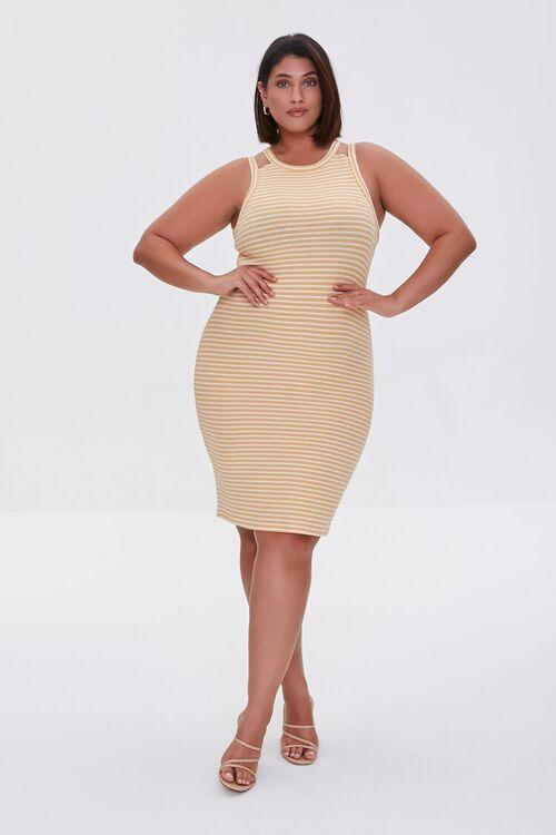 Plus Size Striped Mini Dress, image 4