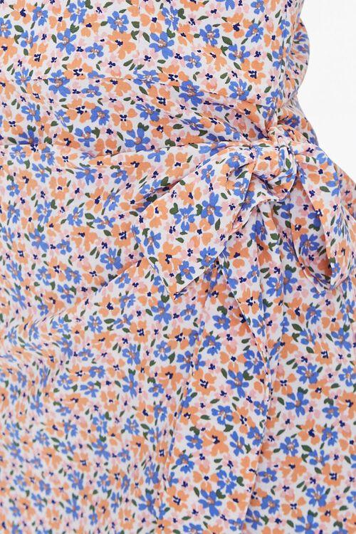 Floral Print One-Shoulder Dress, image 6