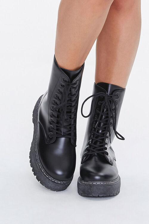 Lug-Sole Combat Boots, image 4