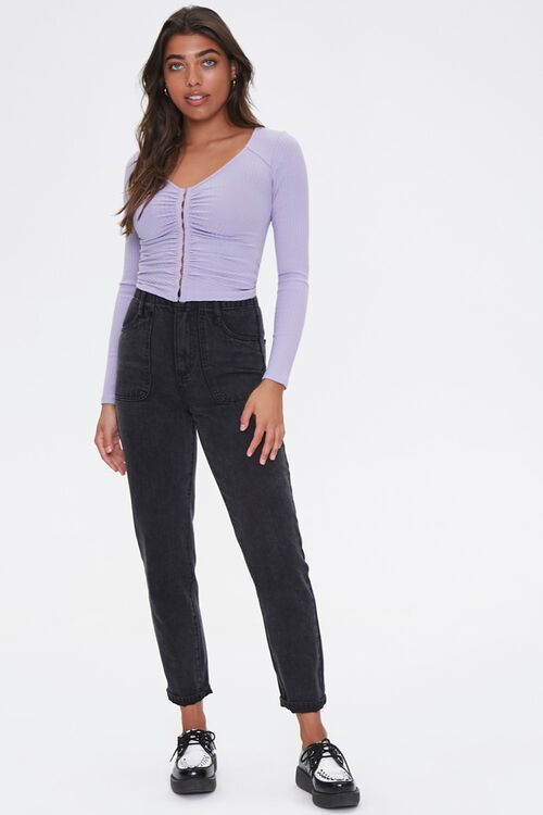 Ribbed Ruched Top, image 4