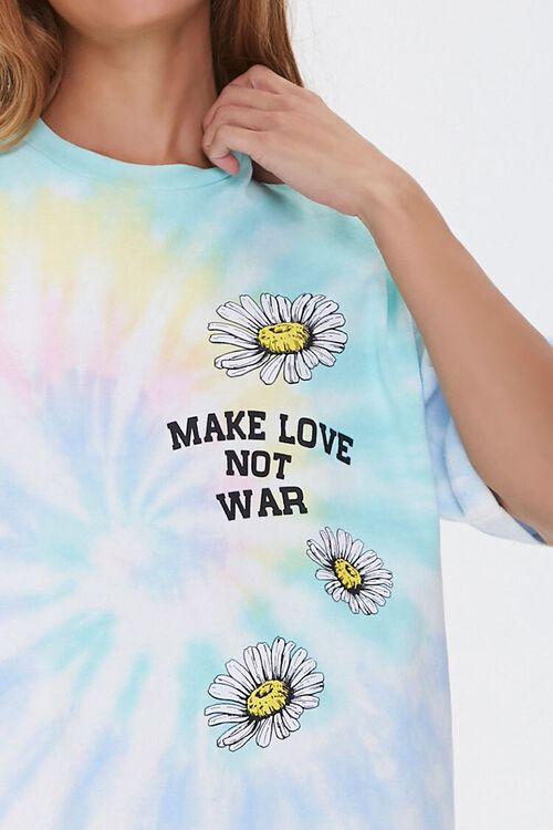 Make Love Not War Graphic T-Shirt Dress, image 5