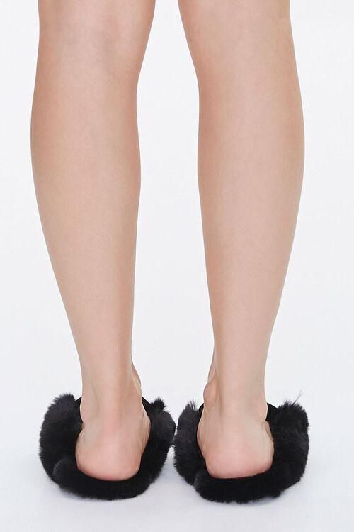 Faux Fur-Lined Mules, image 3