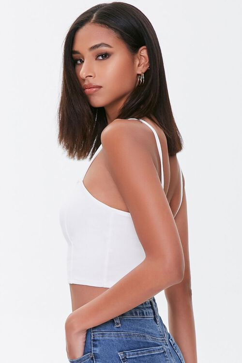 Cropped Seamed Cami, image 2