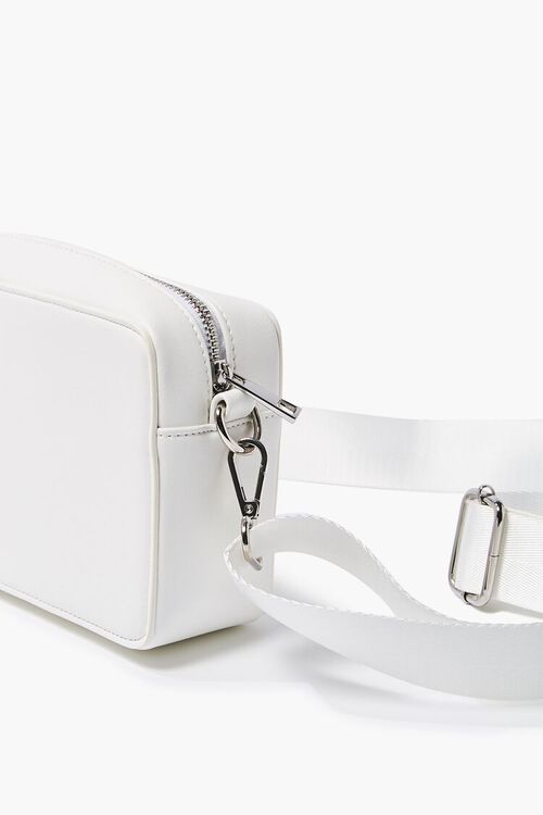 Faux Leather Structured Crossbody Bag, image 2