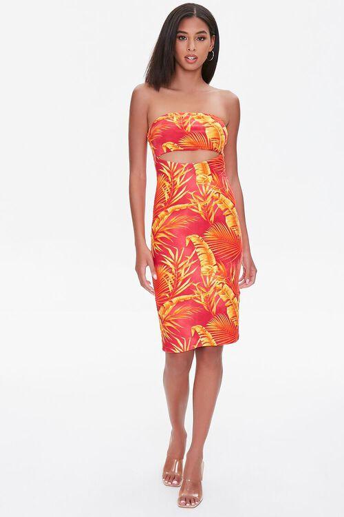 Tropical Floral Tube Dress, image 4