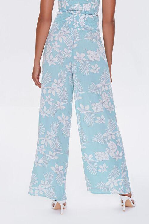 Tropical Floral Print Pants, image 4