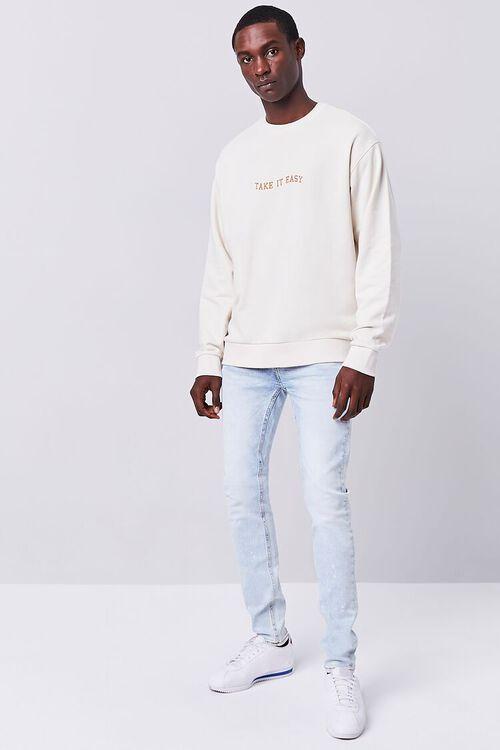 Premium Paint Splatter Skinny Jeans, image 1