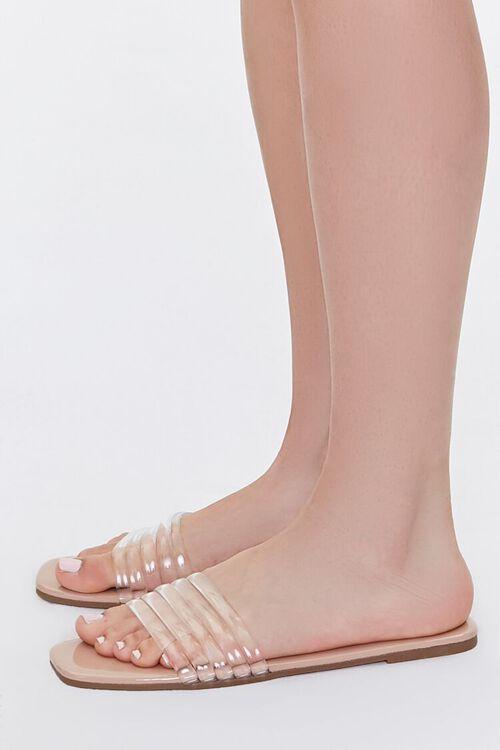 Transparent Jelly Vamp Sandals, image 2