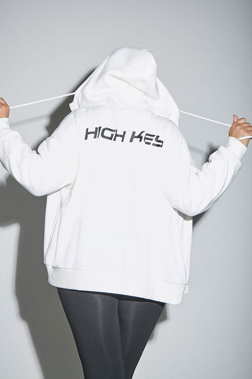 Plus Size High Key Zip-Up Hoodie, image 2