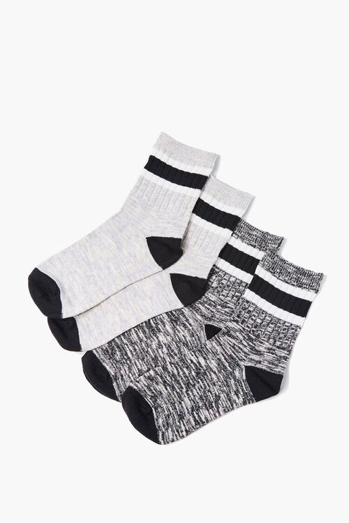 Marled Crew Socks - 2 Pack, image 2