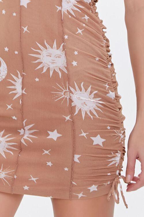 Celestial Print Cami Mini Dress, image 5