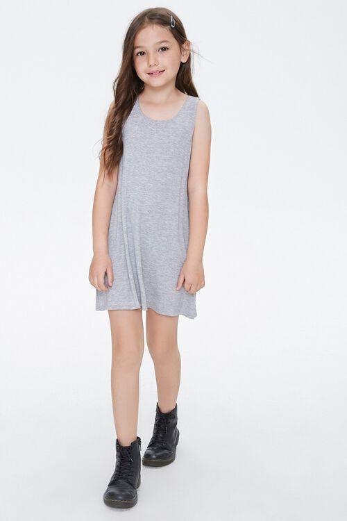 Girls Tank Swing Dress (Kids), image 4