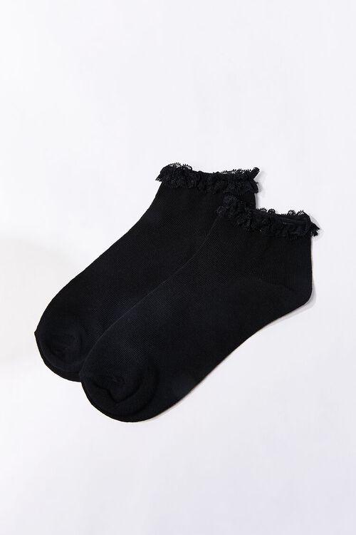 Lace-Trim Ankle Socks, image 2