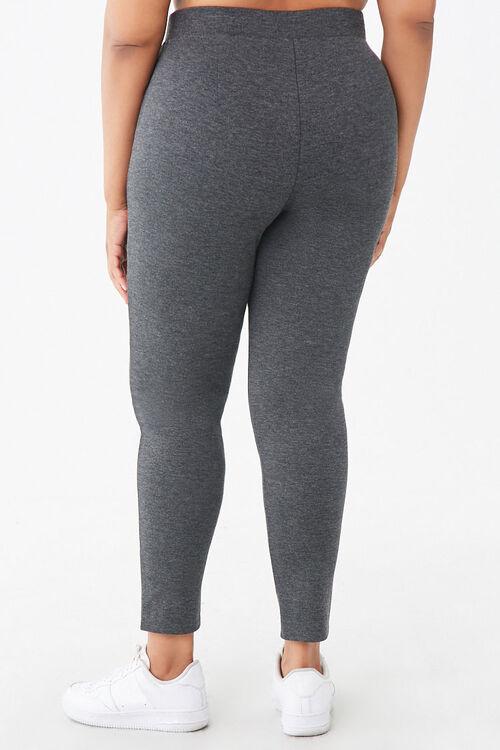 Plus Size Zip-Front Leggings, image 4