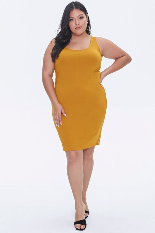Plus Size Bodycon Tank Dress, image 4
