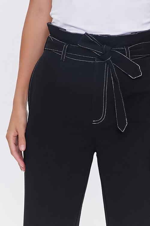 Paperbag Ankle-Tie Pants, image 5
