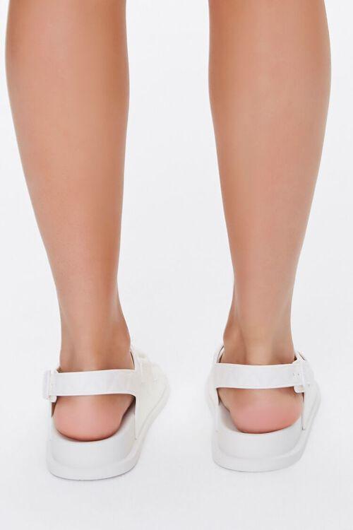Cutout Flatform Sandals, image 4