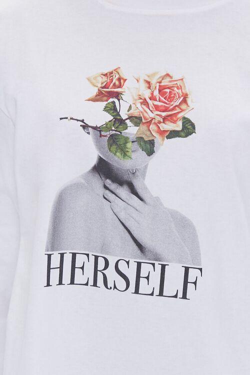 Herself Graphic Long-Sleeve Tee, image 5
