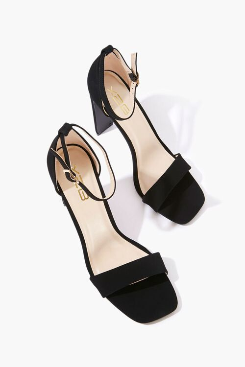 Faux Suede High Heels, image 3