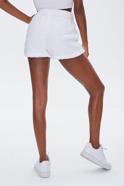 Faux Shearling Barbie™ Shorts, image 4