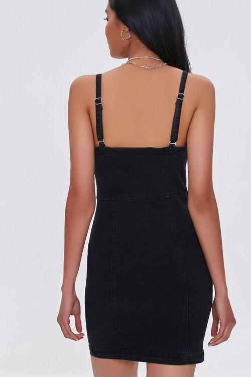 Denim Pinafore Dress, image 3