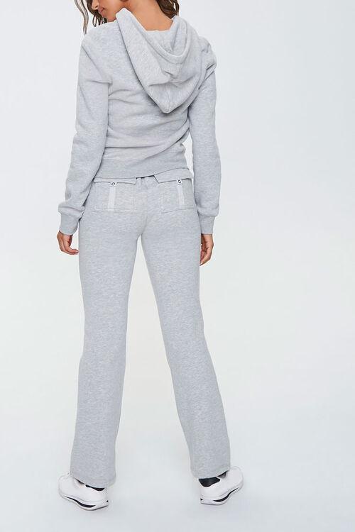 Fleece Zip-Up Hoodie & Sweatpants Set, image 3